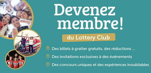 Accéder à Lottery Club (Loterie Nationale)